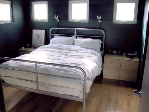 2 Story Modern Floating Loft Bedroom